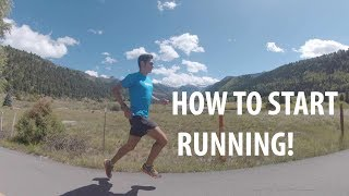 HOW TO START RUNNING FOR BEGINNERS! Sage Canaday Run Coaching and Tips