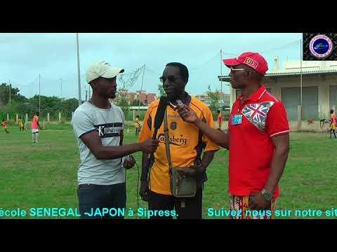 Reportage sur le centre de formation RACING CLUB de Dakar-Sénégal