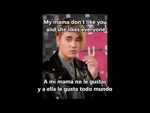 Justin Bieber - Love yourself (Purpose) -  (Letra - Lyric)