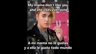 Justin Bieber - Love yourself (Purpose) -  (Letra - Lyric)