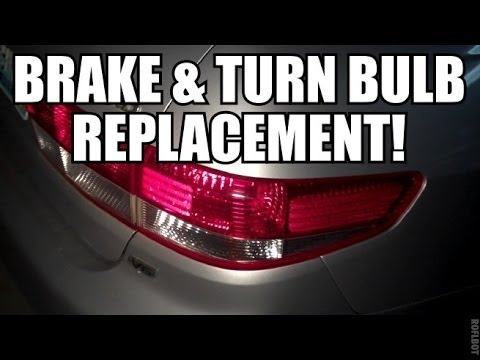 Honda Accord Brake Turn Lamp Bulb Replacement