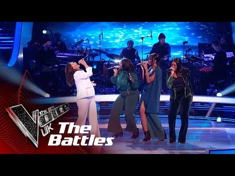 Marina Simioni VS Equip To Overcome - 'Team'   The Battles   The Voice UK 2019