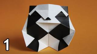 Origami Panda By Román Díaz (folding Instructions) ~part One~