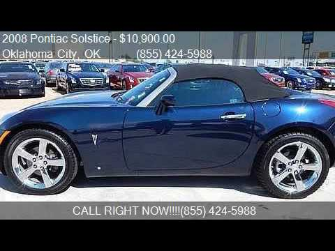 2008 Pontiac Solstice Gxp 2dr Convertible For Sale In