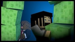 "Minecraft: ""JEROME MAKES ME....HARD!"" (Hole In The Wall)"