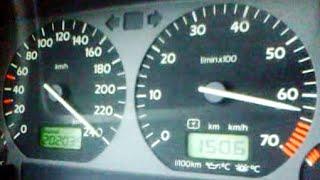 Golf Mk3 vr6 2.8 obd2 top speed