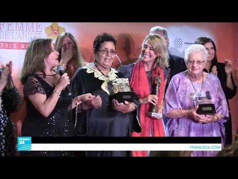 موناكو.. عائشة الشنا تتوج بجائزة امرأة العام  - 13:21-2017 / 6 / 23
