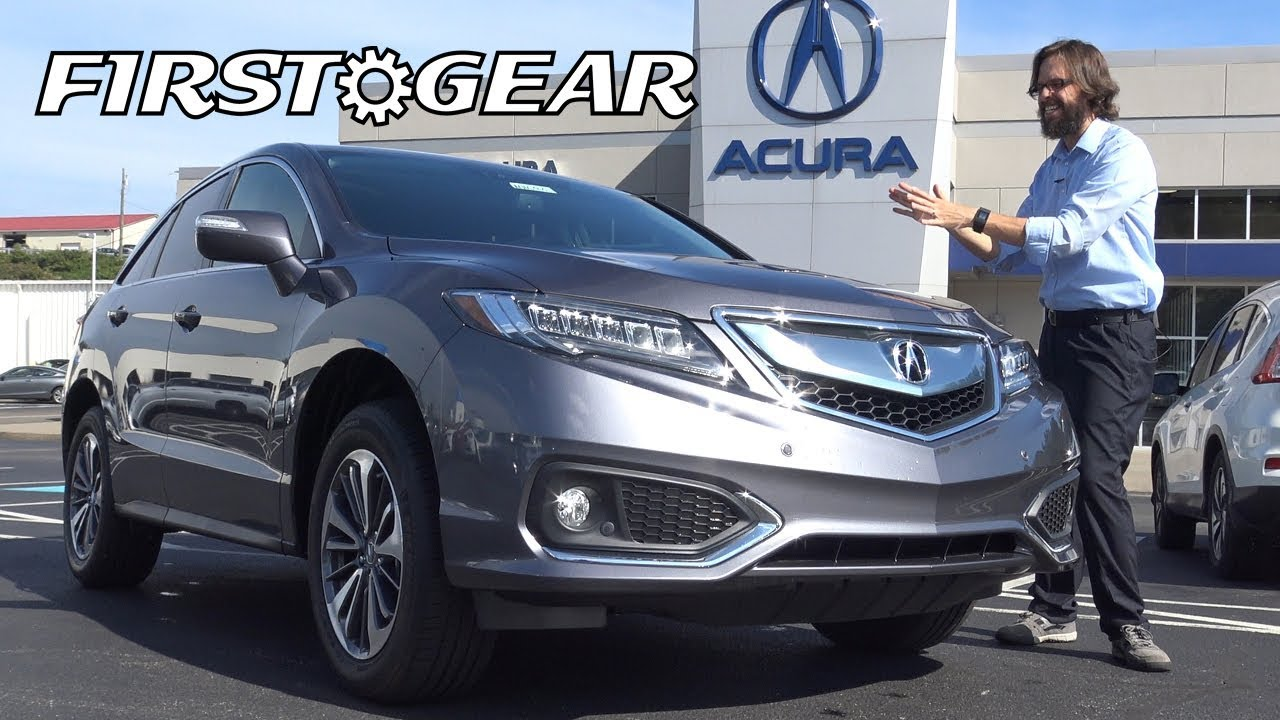 exterior video review acura rdx with awd