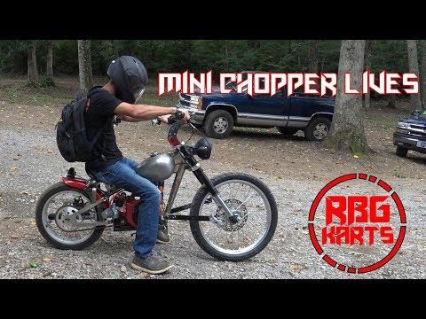 Mini Chopper Lives ~ Predator 212 Motorcycle