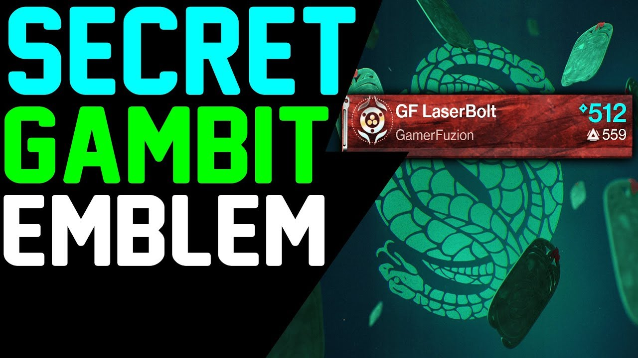 How to get SECRET GAMBIT EMBLEM - DANCE THE DEMONS AWAY Hidden Emblem  Destiny 2 Forsaken