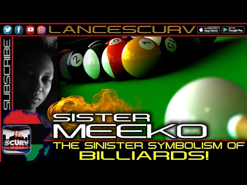 THE SINISTER SYMBOLISM OF BILLIARDS! - SISTER MEEKO/THE LANCESCURV SHOW