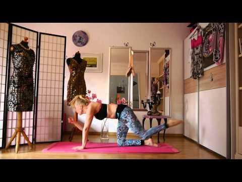 Power Yoga Bikini Workout zum Mitmachen