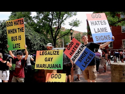 Philly turns Westboro Baptist Church protest into Pride parade