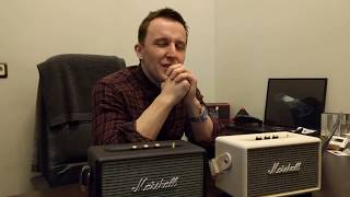 Обзор портативной акустики Marshall