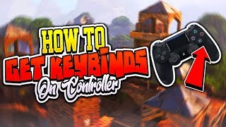 How to use Keybinds on a Controller - Fortnite