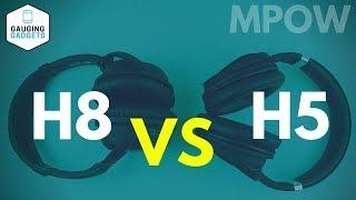 Mpow H8 vs Mpow H5 - Mpow Noise Cancelling Headphones Review