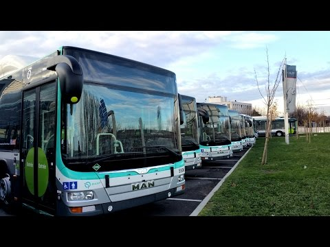 MAN Lion's City GNC – RATP [BUS 109]