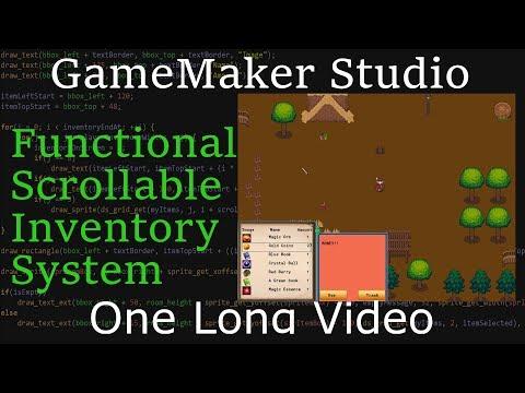 GameMaker Studio 1 & 2 Inventory Tutorial