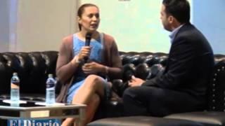 """Hay que saber aprovechar las oportunidades"": Aída Román, medallista olímpica"