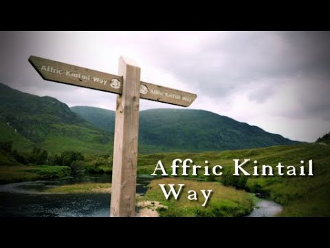 Walking the Affric Kintail Way (from Inverness)