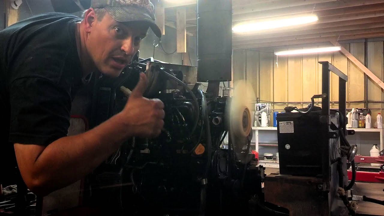 Yanmar Tractor F18D engine swap cold start