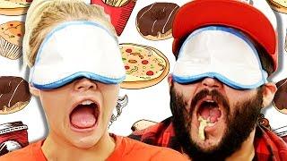 Coworkers Blindfold Hangover Taste Test