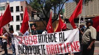 Antorcha Campesina: Segob provoca marcha de 50 Mil antorchistas a Los Pinos