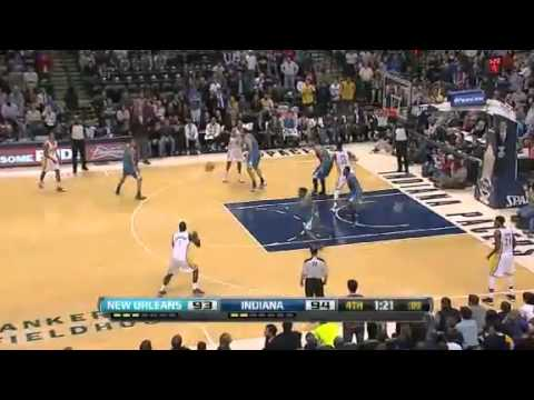 NBA November 21 2012: New Orleans Hornets vs Indiana Pacers Highlights