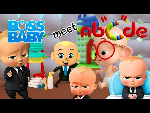 THE BOSS BABY Special movie clips: when The Boss Baby visit Abcde Balloon World