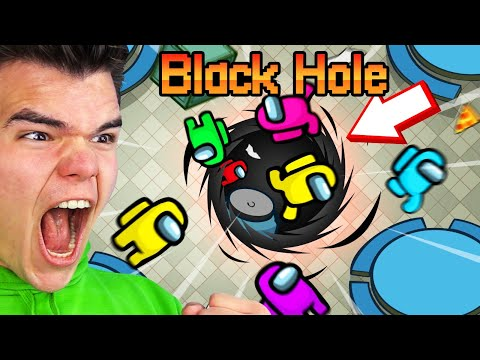We Added BLACK HOLES To AMONG US... (Troll)