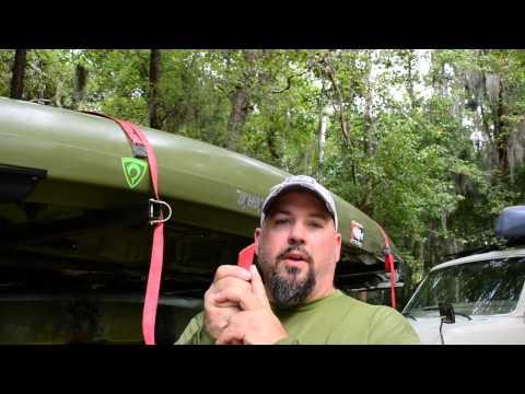 Kayak Tie Down Strap Tips