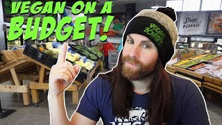 Vegan on A Budget 2020 - Bargain Grocery Shopping