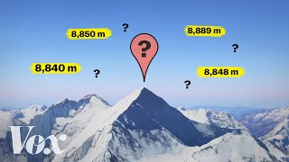 Why Mount Everest's height keeps changing
