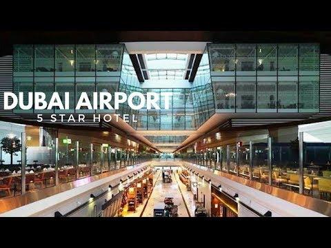 A LOOK INSIDE DUBAI 5 STAR AIRPORT HOTEL