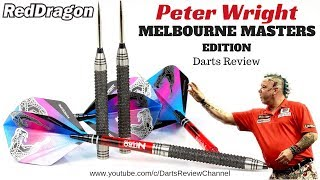 Red Dragon Peter Wright Melbourne Masters Edition 22g darts review