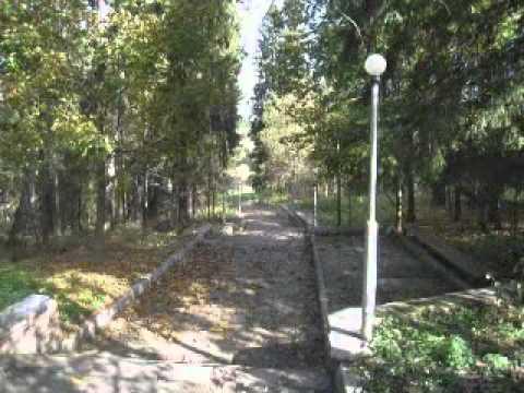 Пансионат Звенигород осень 2010 г..wmv