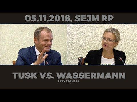 Tusk vs. Wassermann i przyjaciele (5.11.2018, Sejm RP) [BEST OF]