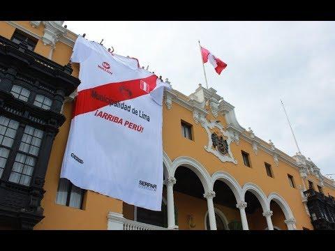 MML: Supercamiseta de selección peruana es presentada en Plaza Mayor