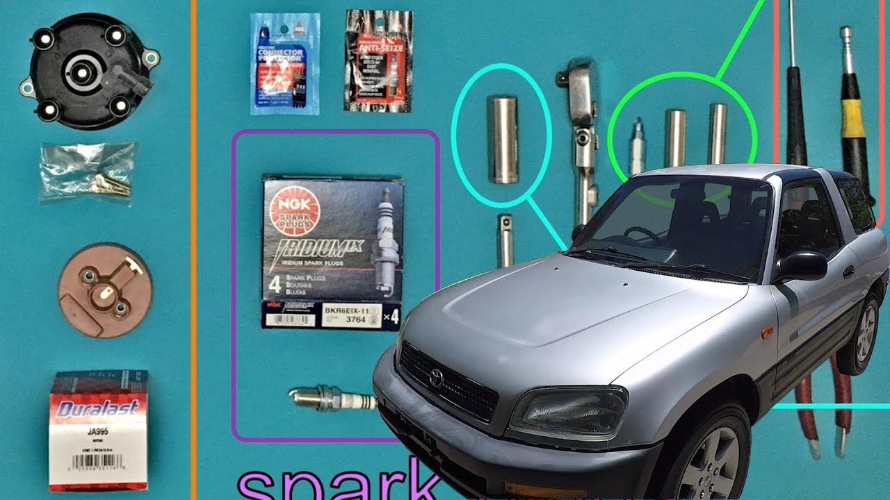 rav4 tune up spark plugs distributor cap fuel filter ignition 2007 toyota rav4 [ 1280 x 720 Pixel ]