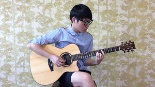 (jason Mraz) Lucky - Steve Lee [fingerstyle Cover]