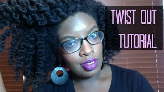 Natural Hair | Defined Twist Out Tutorial