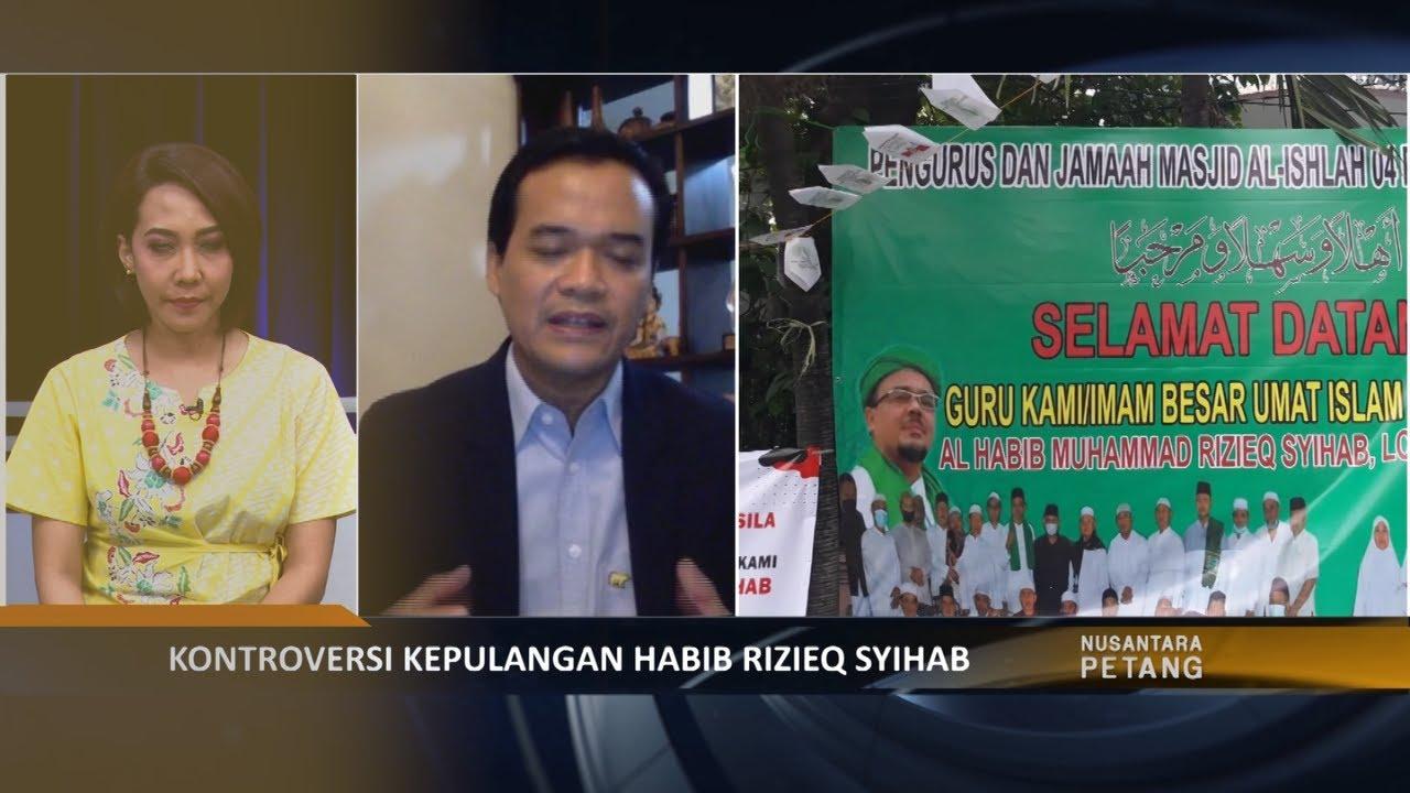 Benarkah Pemerintah Punya Andil Dalam Kepulangan Habib Rizieq?