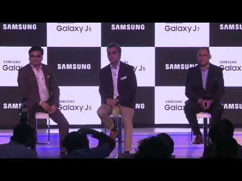 Launch of Samsung Galaxy J5 & J7