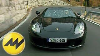 Porsche Carrera GT: Driftorgie in den Bergen