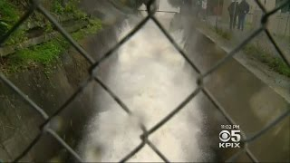 STORM  COVERAGE:  Overflowing Anderson Reservoir A Source Of Concern With New Storm Coming In