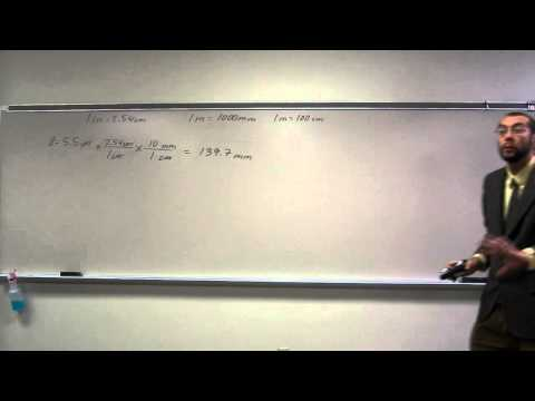 Unit conversions - Inches to Millimeters (in to mm)