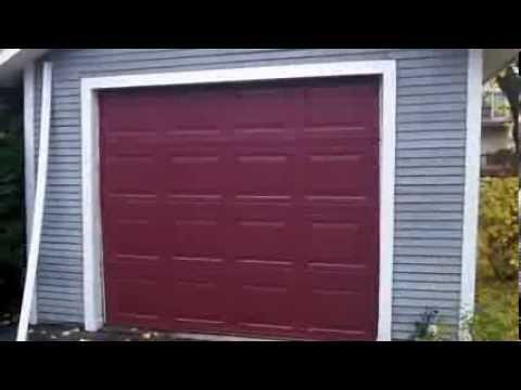 A Hormann 3200 Garage Door Install In Woodridge,IL * Specs .