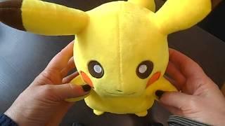 Пикачу без улыбки 35 см - плюшевый покемон, обзор, купить в Украине