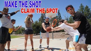 MAKE THE SHOT, CLAIM THE SPOT BASKETBALL SHOOTING CHALLENGE