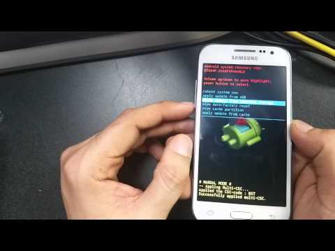 Samsung Galaxy Prevail LTE Hard Reset (hard keys)